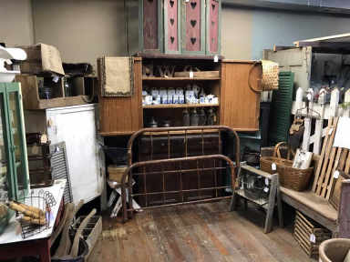 Greenwood Mercantile Booth